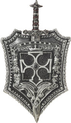 Crusader Shield Sword 18 Inch