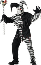 Evil Jester Men Lg 42-44