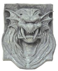 Lion Head Plaque