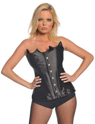 Bustier Black Pointed Small