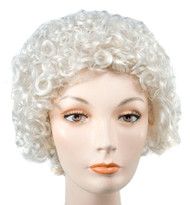 Style 100 Curly Wig Grey