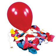 Balloon 12 In Clear 72 Count
