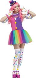 Clownin Around Adlt Med-large