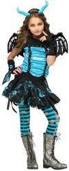 Goth Dragon Fairy Child 8-10