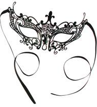 Elegant Laser Cut Mask - Small