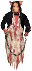 Butcher Pig Hanging Deco 36 In