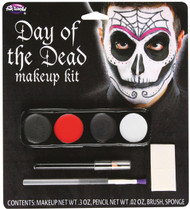 Day Of The Dead M/u Kits Male