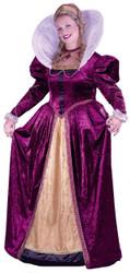 Elizabethan Queen Plus Sz
