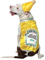 Pet Costume Heinz Mustard