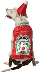 Pet Costume Heinz Ketchup