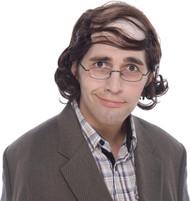 Wig Mullet Professor Brown