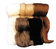 Wool Fiber Grey