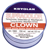 Clown White 8 1/2 Oz