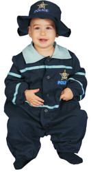 Baby Police Officer 12 To 24mo
