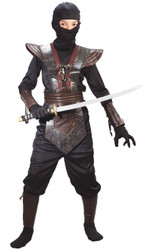 Ninja Fighter Leather Md Child