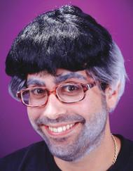 Flip Top Wig Black