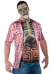 Photo Real Shirt Skeleton