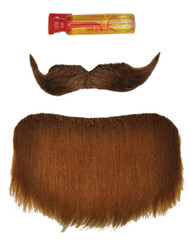 Mustache Goatee Amigo Black
