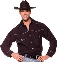 Cowboy Shirt Male Os