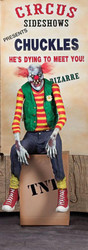 Chuckles Clown Animated Prop