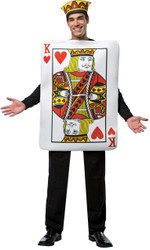 King Of Hearts Card Adult