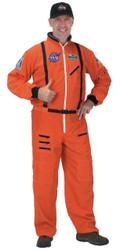 Astronaut Suit Adult Orange Lg