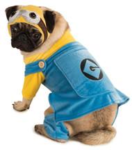 Pet Costume Minion Large
