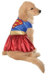 Pet Costume Supergirl Lg