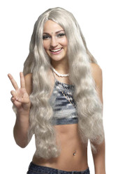 Wig Hippie Gray