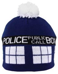 Doctor Who Tardis Pom Beanie