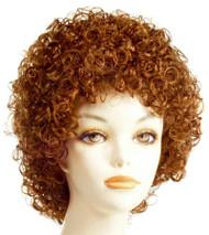 Annie Orange Red Wig