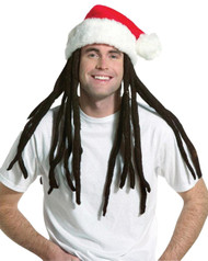Rasta Santa W Dreadlocks