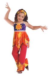 Hippie Tie Dye Child 12-14