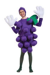 Grapes Purple Child Costume