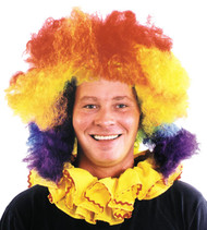Clown Wig Super Jumbo Multi