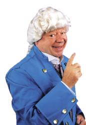 Colonial Man Wig Dlx