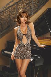Dress Leopard Halter Large