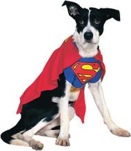 Superman Dog Costume Xl