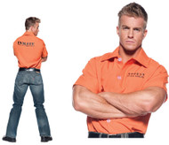 Orange Prisoner Shirt Xl