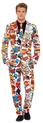 Comic Strip Suit Large