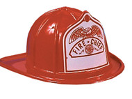 Fire Fighter Helmet Red