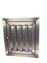 Tall Aluminum Dog Box Door Hinged Right