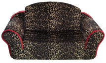 Leopard Print Dog Sleeper Sofa
