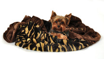 Camo Faux Fur Sleepytime Cuddle Blanket