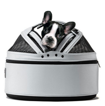 White Sleepypod Pet Bed Carrier Car Safety Seat