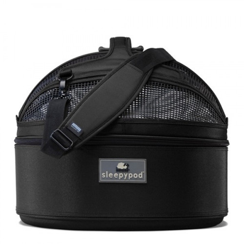Black Sleepypod Pet Bed Carrier Car Safety Seat