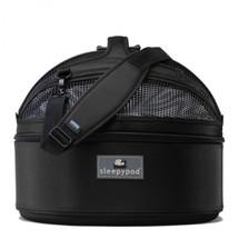 Black Sleepypod Pet Bed Carrier Car Safety Seat