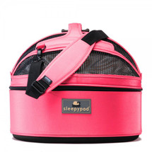 Blossom Pink Sleepypod Pet Bed Carrier Car Safety Seat