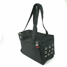 Black Urban Pet Tote Carrier