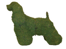 Cocker Spaniel Mossed Frame Topiary